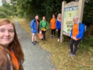 Powys Charity Walk Hep C Kaleidoscope World Hepatitis Day